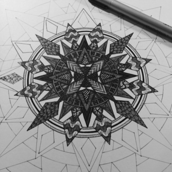 black-and-white-mandala-art-drawings0221
