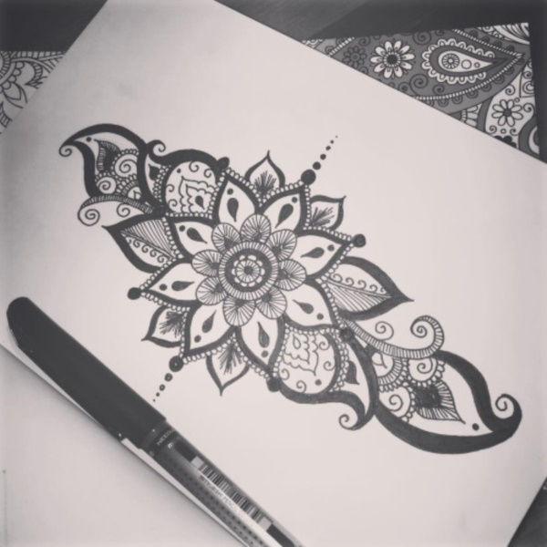 40 Black And White Mandala Art Drawings Like You Have Never Seen ...