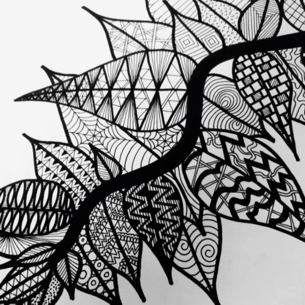 40 Black And White Mandala Art Drawings Like You Have Never Seen - Bored Art
