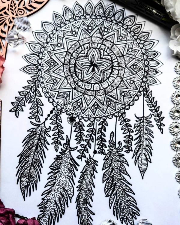 black-and-white-mandala-art-drawings0391