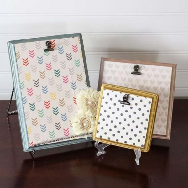 40 diy frame ideas to try in 2017 bored art for Diy fabric picture frame