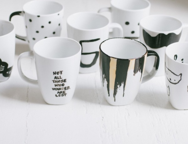 50 Diy Sharpie Coffee Mug Designs To Try Bored Art