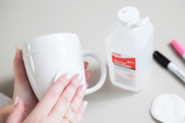 how to make oil based sharpie mugs