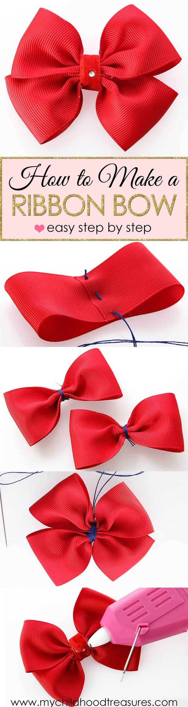 how to make an bow