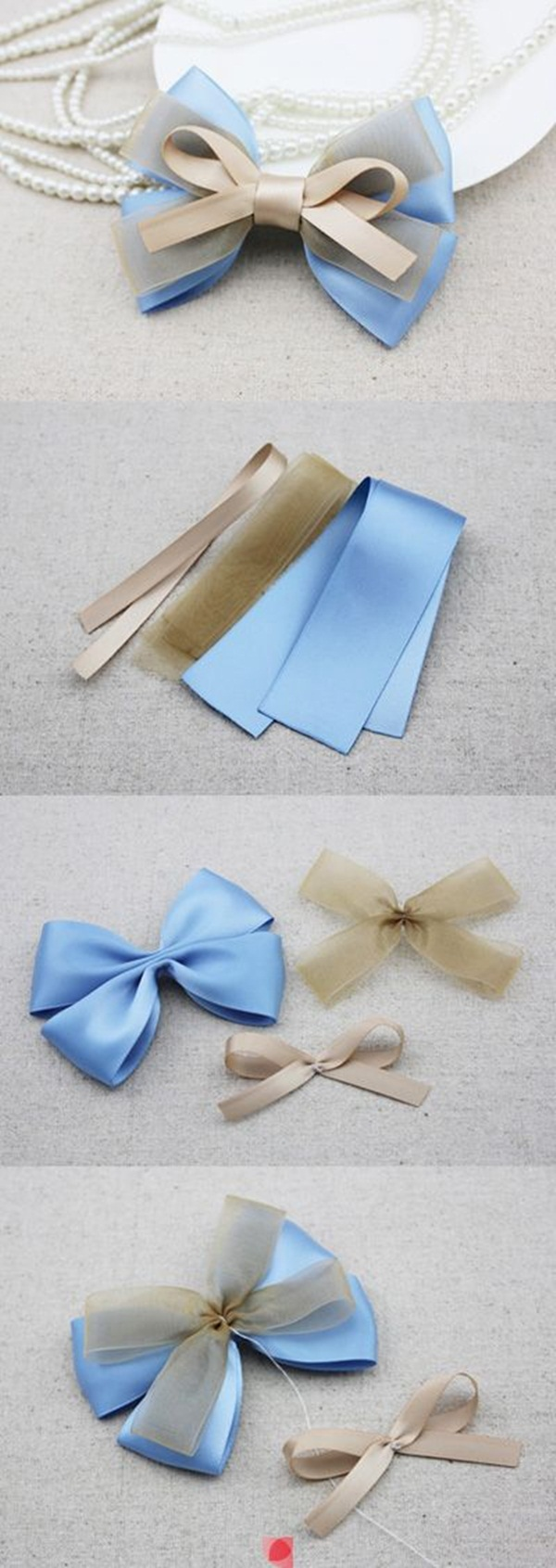 How To Make A Bow (Step By Step Image Guides)