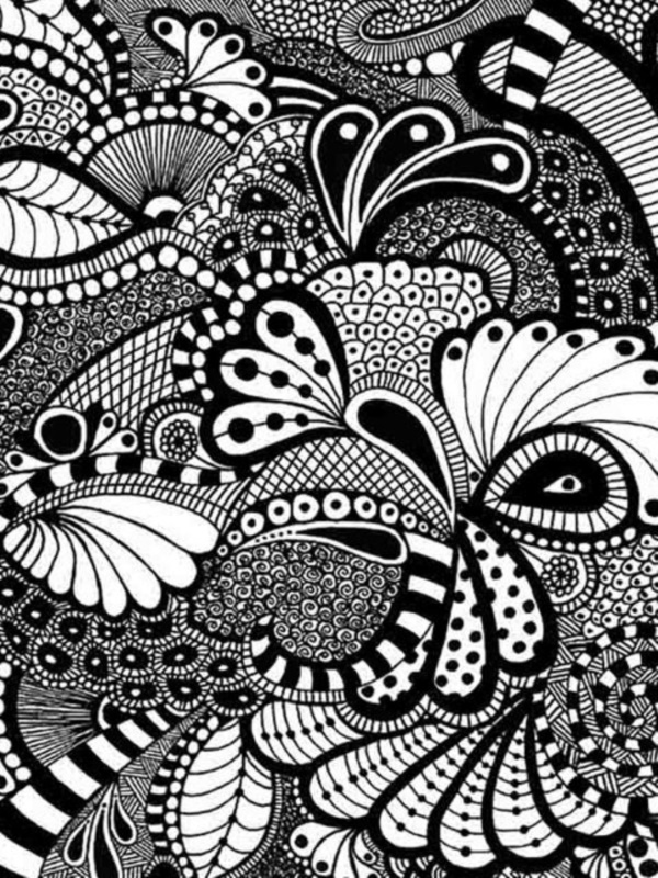 40 More Zentangle Patterns To Practice With Bored Art Mesmerizing Zentangle Pattern