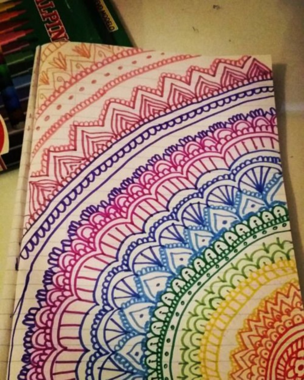 40 More Zentangle Patterns To Practice With - Bored Art