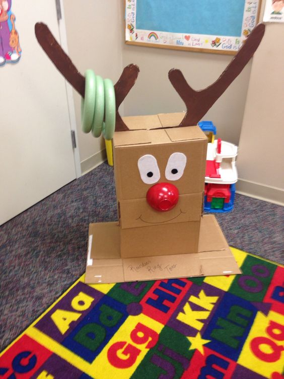 Cute And Celebratory Cardboard Christmas Crafts