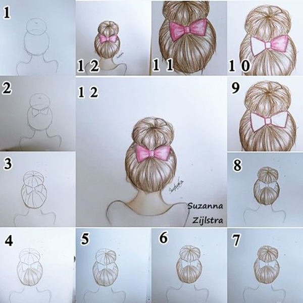 how to draw realistic things step by step