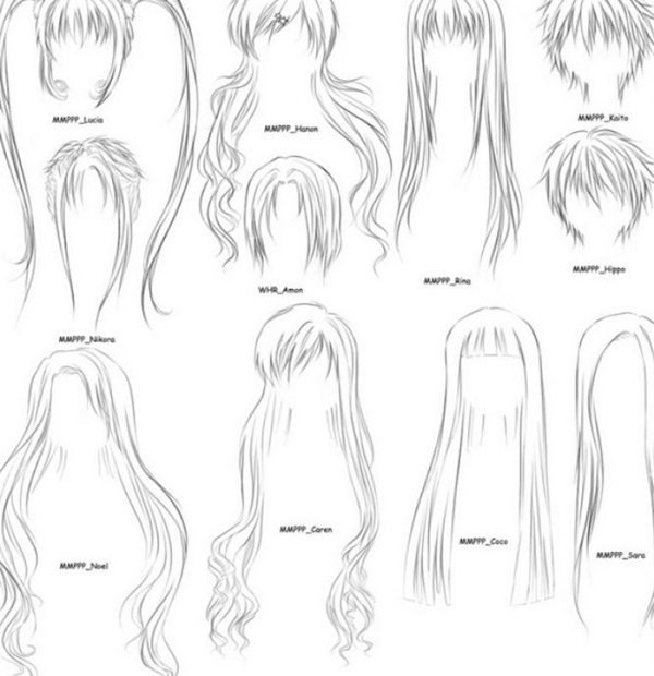 Lets learn how to draw hair step by step image guides you not only need to concentrate on the details but also work at adding depth to the drawing
