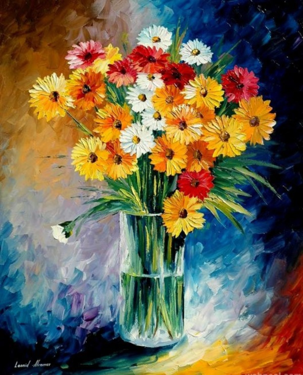 Beautiful Paintings Of Flowers 0331