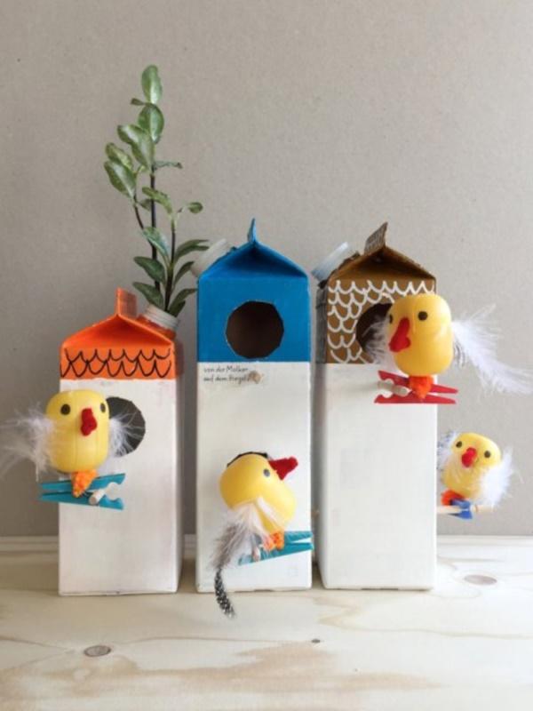 25 DIY Bird Feeder Ideas For Kids Bored Art