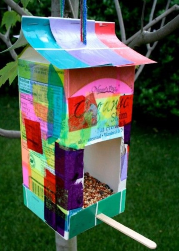 25 diy bird feeder ideas for kids bored art