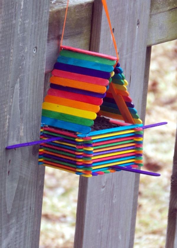 25 DIY Bird Feeder Ideas For Kids - Bored Art