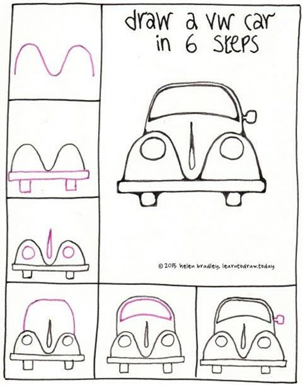 How to draw doodles step by step image guides for How to make doodle
