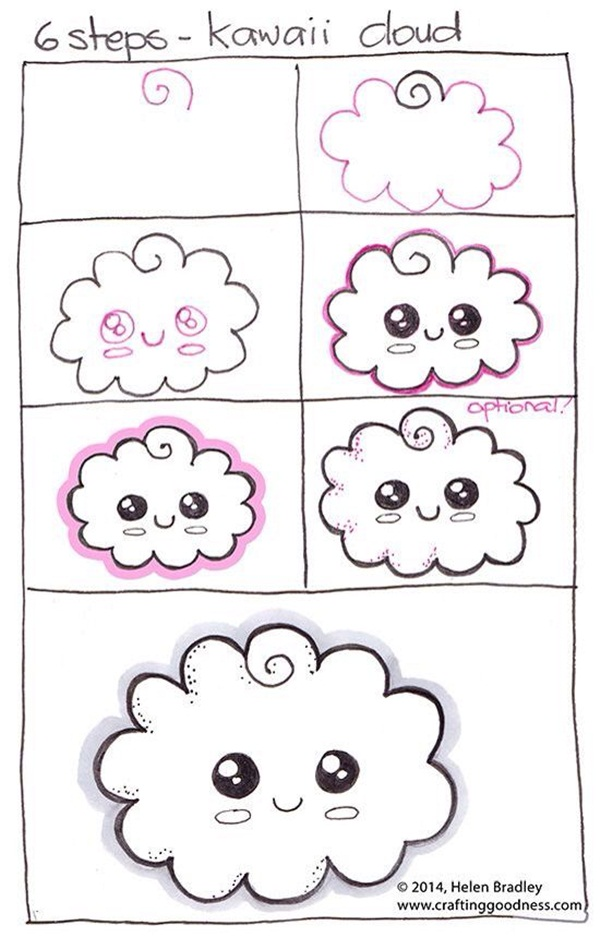 How To Draw Doodles Step By Step Image Guides