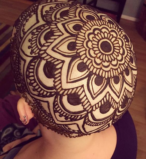 Learn All About The Heady World Of Henna Crown Art Bored Art