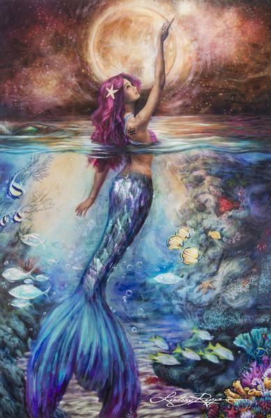 Mermaid art images 12