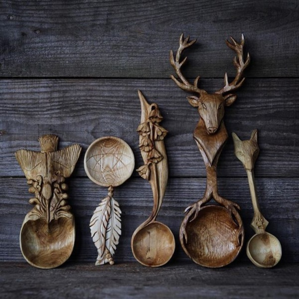 Creative Wood Whittling Projects and Ideas5