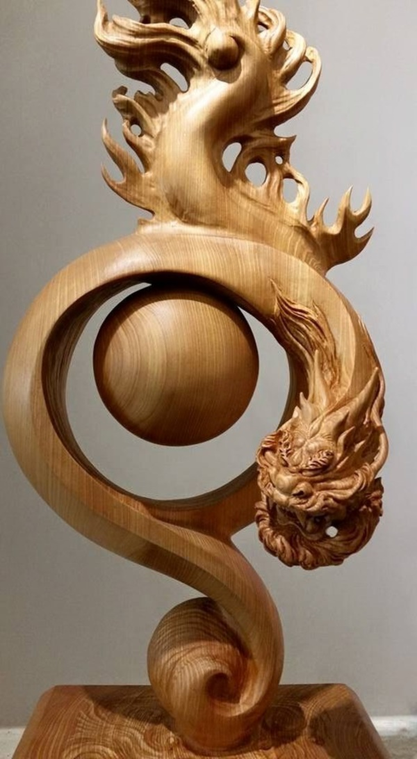 Creative Wood Whittling Projects and Ideas17