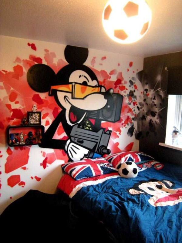 Graffiti home decoration Ideas for 20176