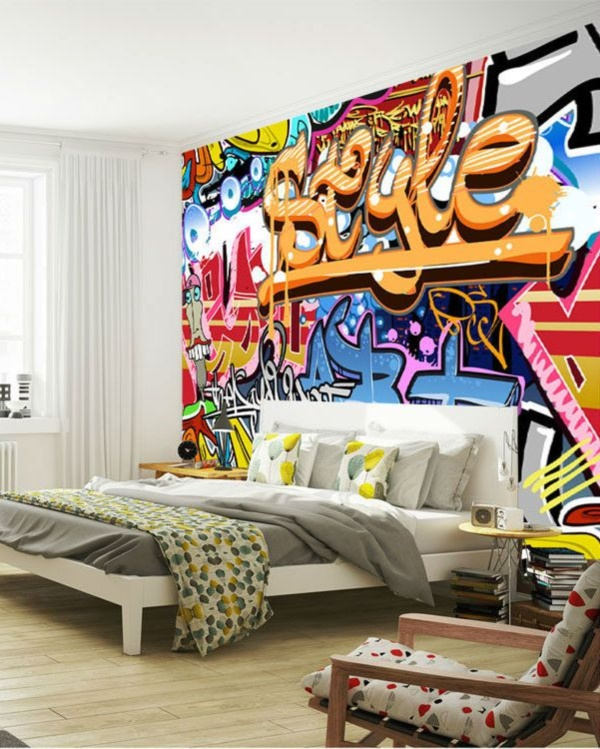 Graffiti home decoration Ideas for 201713