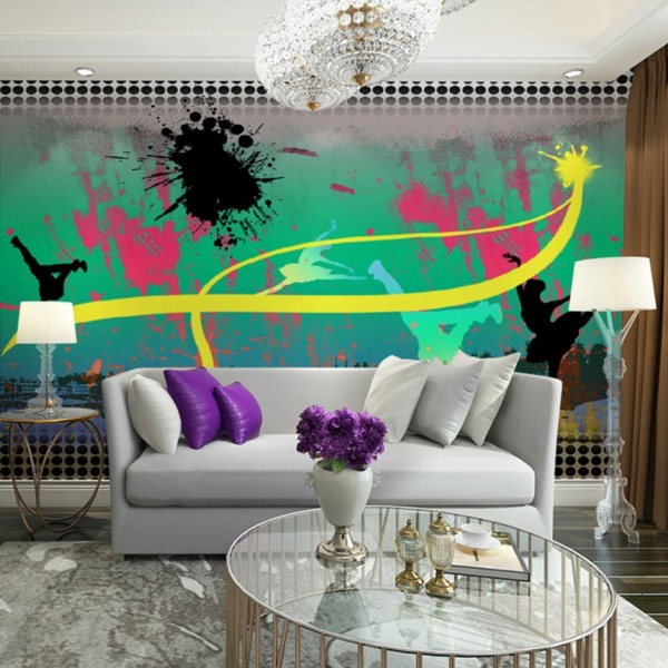 Graffiti home decoration Ideas for 201724