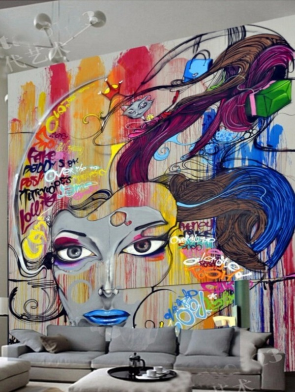 Graffiti home decoration Ideas for 201725