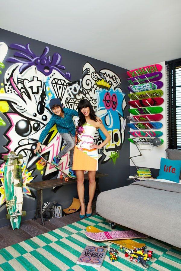 Graffiti home decoration Ideas for 201729