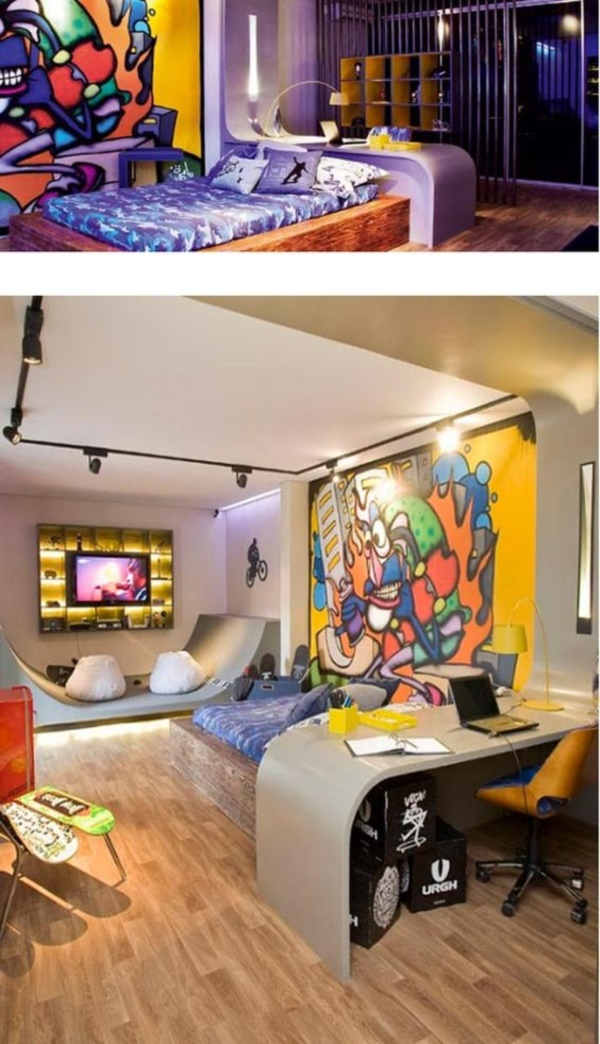 Graffiti home decoration Ideas for 201730