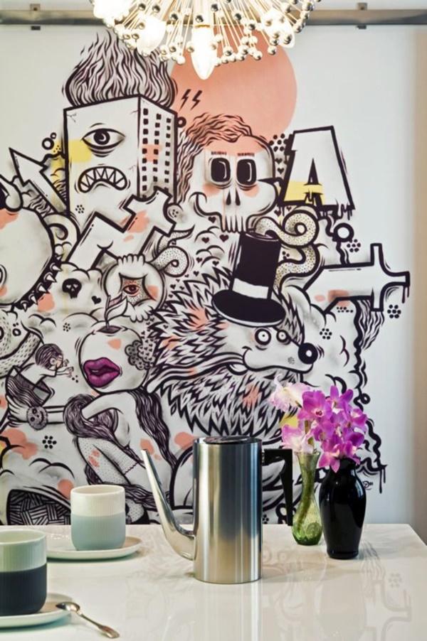 Graffiti home decoration Ideas for 201732