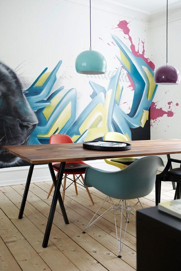 Graffiti home decoration Ideas for 201736