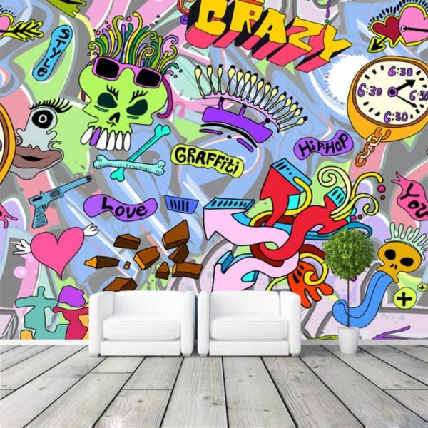Graffiti home decoration Ideas for 201737