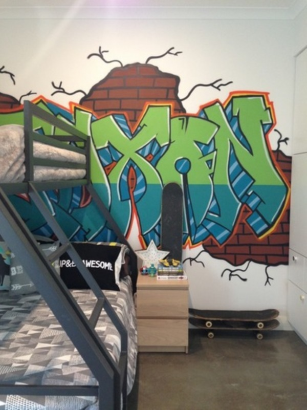 Graffiti home decoration Ideas for 201738