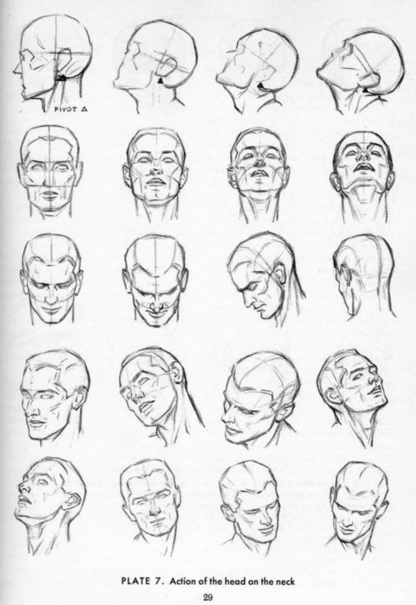 Handy Facial expression drawing Charts For practice17