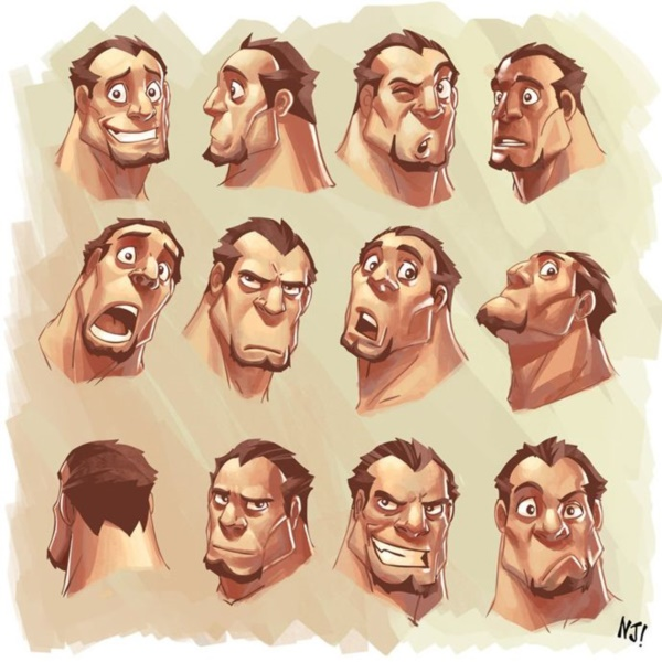 Handy Facial expression drawing Charts For practice27
