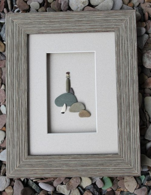 Handy Rock And Pebble Art Ideas For Many Uses11