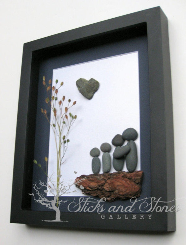 Handy Rock And Pebble Art Ideas For Many Uses15