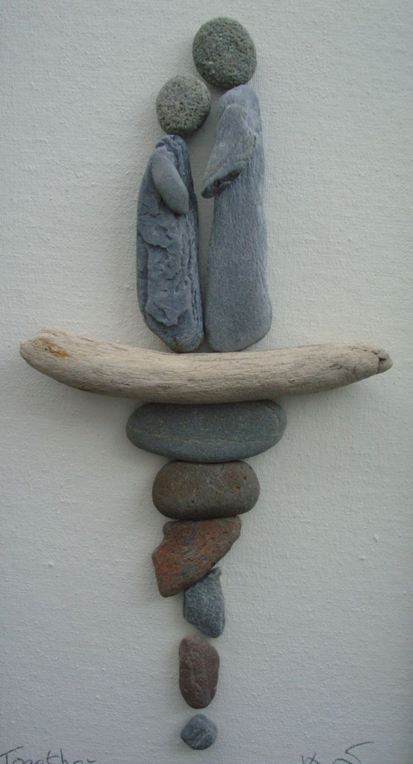 Handy Rock And Pebble Art Ideas For Many Uses19