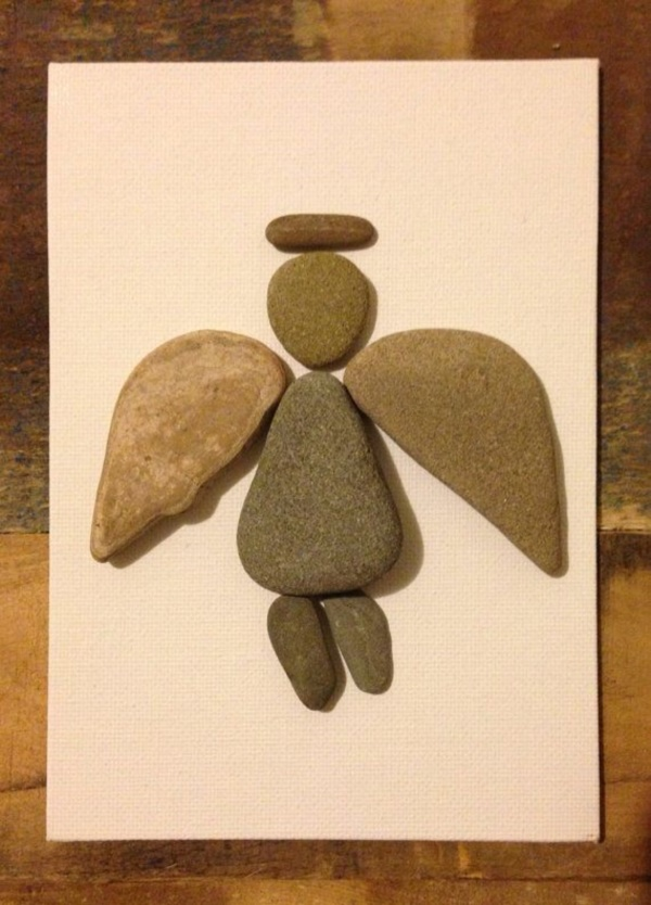 Handy Rock And Pebble Art Ideas For Many Uses22