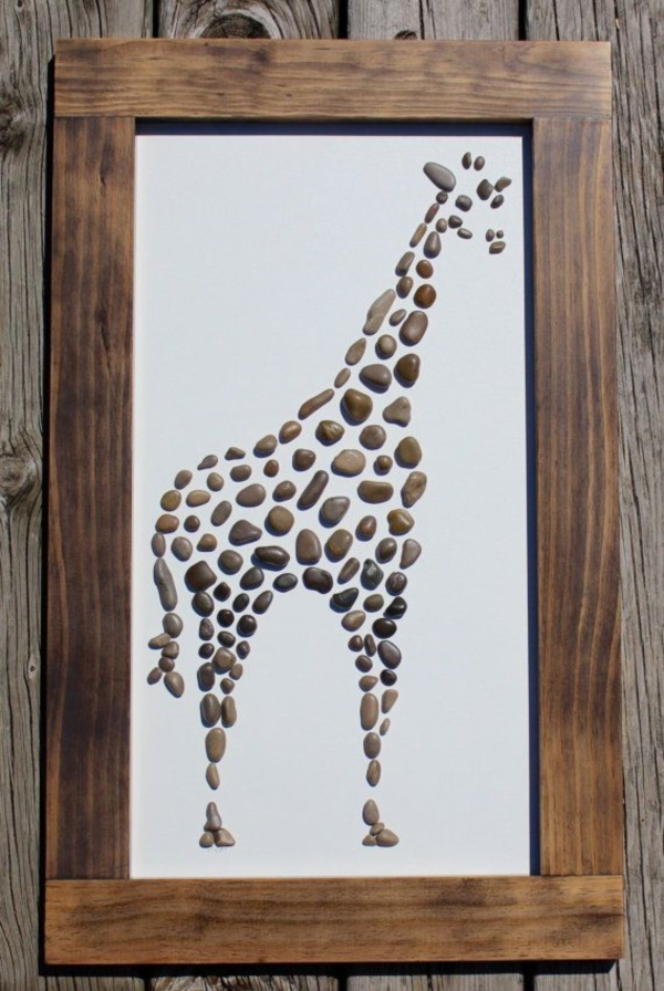 Handy Rock And Pebble Art Ideas For Many Uses36