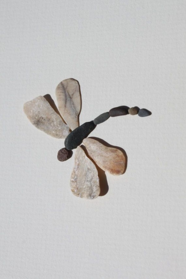 Handy Rock And Pebble Art Ideas For Many Uses40