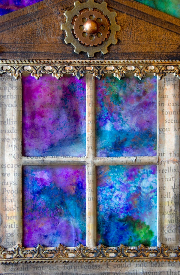 Original Alcohol Ink On Glass Examples30