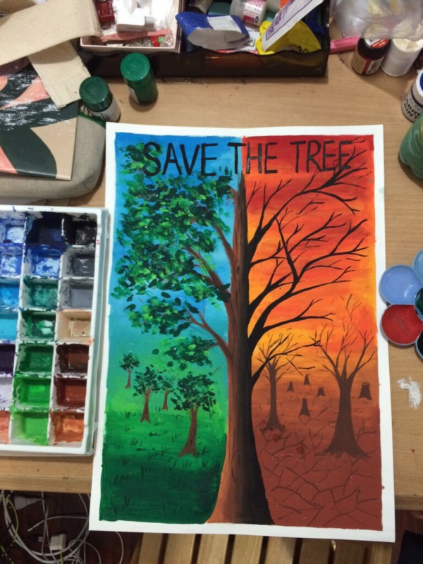 save environment posters competition Ideas 18