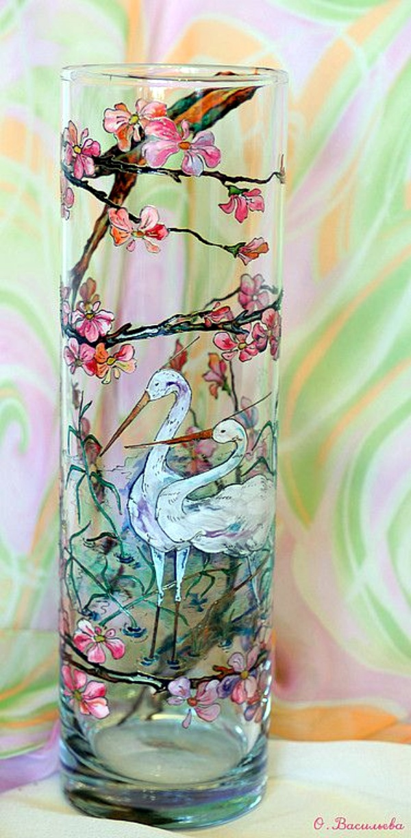40 glass painting ideas for beginners for Paint you can use on glass