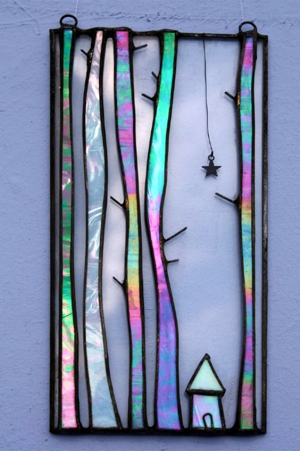 40 glass painting ideas for beginners for Glass art projects