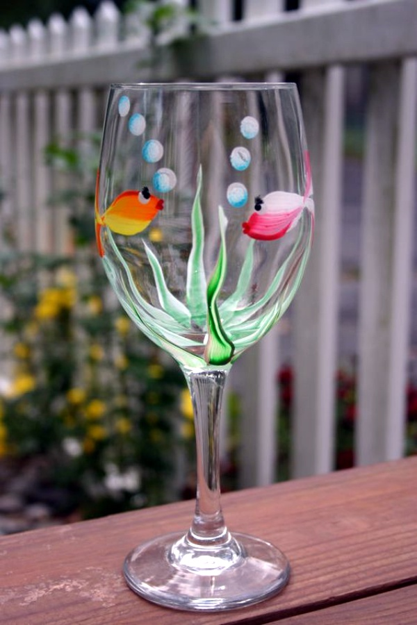 40 glass painting ideas for beginners