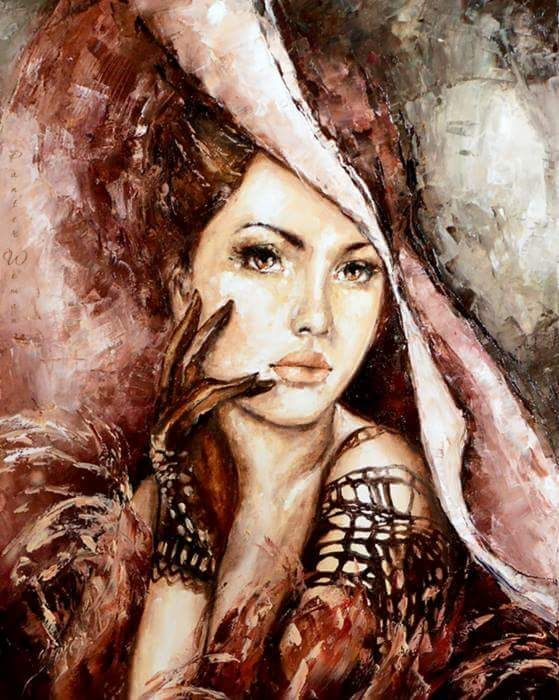 Woman paintings best pics 79