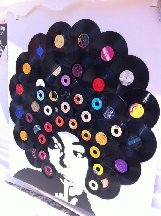 the wonderful world of vinyl record art to evoke the past and make it live again bored art. Black Bedroom Furniture Sets. Home Design Ideas