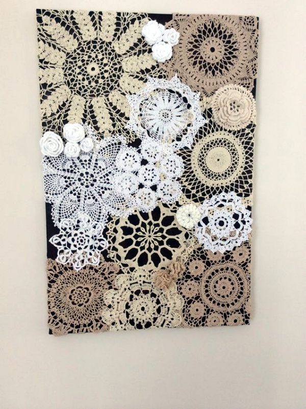 40 Creative Doily Craft Ideas For You